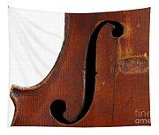 Violin Clef Tapestry