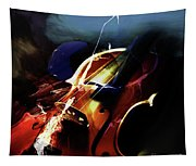 Violin Painting Art 321 Tapestry