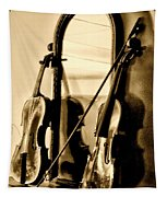 Violins Tapestry