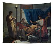 Virgil Reading The Aeneid Tapestry