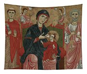 Virgin And Child Enthroned With Saints Leonard And Peter And Scenes From The Life Of Saint Peter Tapestry