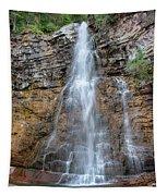 Virginia Falls - Glacier National Park Tapestry