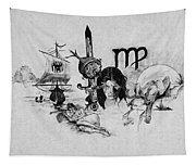 Virgo State Of Mind Tapestry