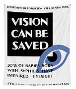 Vision Can Be Saved - Wpa Tapestry