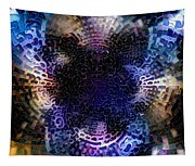 Vivid Abstract Tapestry