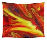 Vivid Abstract Vibrant Sensation IIi Tapestry