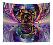 Vivid Worlds Tapestry
