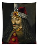 Vlad The Impaler Portrait  Tapestry