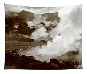 Volcanic Steam Tapestry