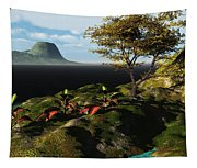 Volcano View Tapestry