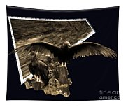 Vulture 3d Tapestry