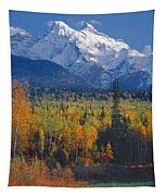 102238-v-w End Of Seven Sisters Mountain  Tapestry