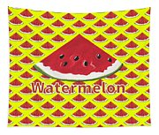 W Is For Watermelon Tapestry