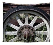 Wagon Wheel Tapestry