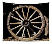 Wagon Wheel Texture Tapestry