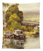 Waiakea Vintage Art Tapestry