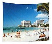 Waikiki Beach Tapestry