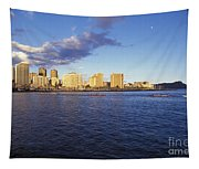 Waikiki From Water Tapestry