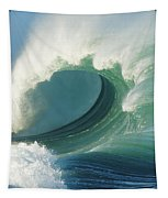 Waimea Bay Shorebreak Tapestry