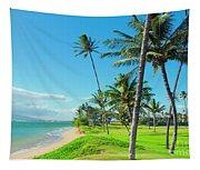 Waipuilani Beach Kihei Maui Hawaii Tapestry
