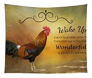 Wake Up Tapestry