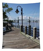 Walk Along The Fear River - Wilmington Tapestry