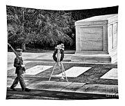Walking His Post Tapestry