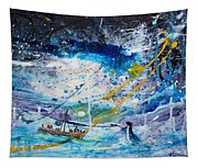 Walking On The Water Tapestry