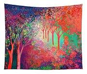 Walking Toward The Light Tapestry