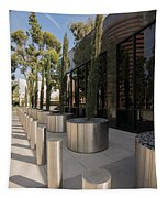 Walkway With Reflection Tapestry