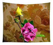 Wall Flowers Tapestry