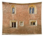 Wall Of Five Windows. Tapestry