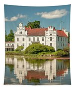 Wanas Castle And Reflection Tapestry