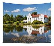 Wanas Slott And Lake Tapestry