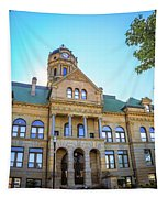 Wapakoneta Ohio Court House Tapestry