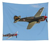 Warhawk And Sea Fury Tapestry