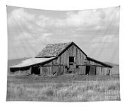 Warm Memories - Black And White Tapestry