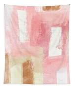 Warm Spring 2- Abstract Art By Linda Woods Tapestry