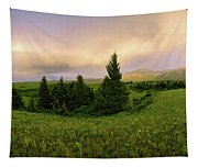 Warm The Soul Panorama Tapestry