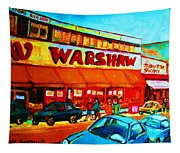 Warshaws Fruitstore On Main Street Tapestry