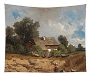 Washerwomen By The River Tapestry