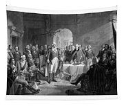 Washington Meeting His Generals Tapestry