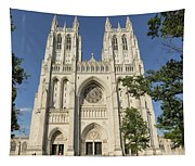 Washington National Cathedral Front Exterior Tapestry