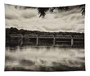 Washingtons Crossing Bridge Tapestry