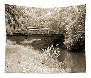 Washington's Crossing Pa - Route 532 Bridge Over The Delaware Ca Tapestry
