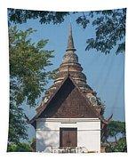 Wat Jed Yod Phra Ubosot Dthcm0967 Tapestry