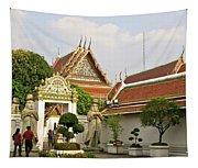 Wat Po Bangkok Thailand 35 Tapestry
