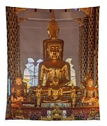 Wat Suan Dok Wihan Luang Buddha Images Dthcm0952 Tapestry