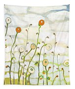 Watching The Clouds Go By No 2 Tapestry by Jennifer Lommers