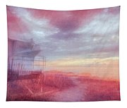 Watching The Day Begin In Watercolors Tapestry